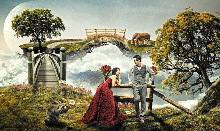 結婚の理想と現実を分けて考えられる