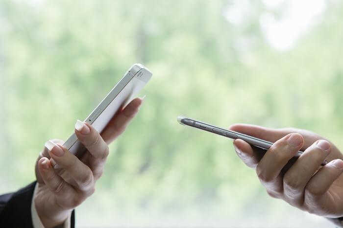 連絡先交換は自由、積極的に行動する