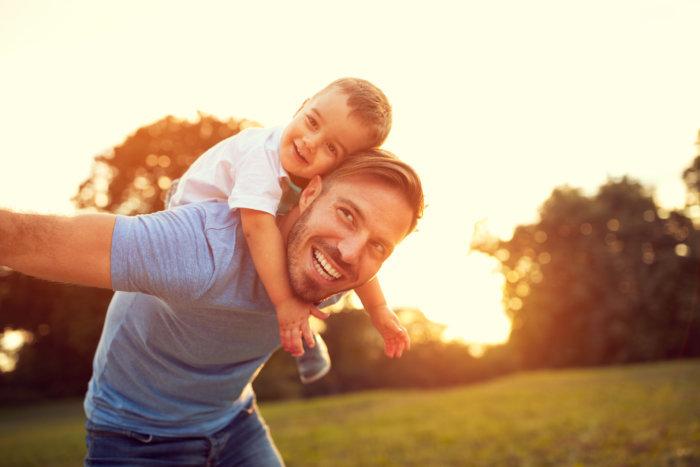 相手に父親としての役割を過剰に期待しない