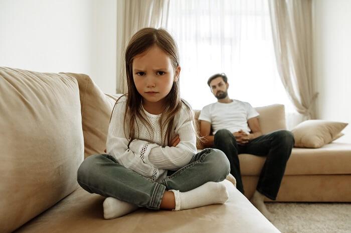 失敗2.パートナーと子供のコミュニケーション不足