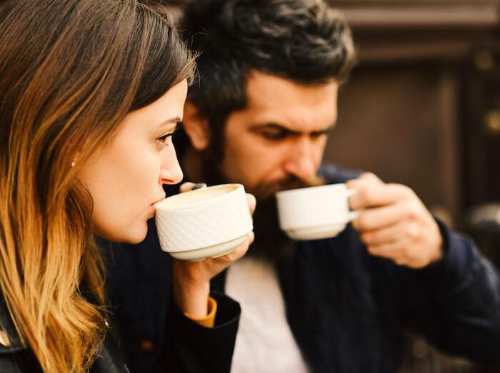 時間に余裕があれば食事の後にお茶をする