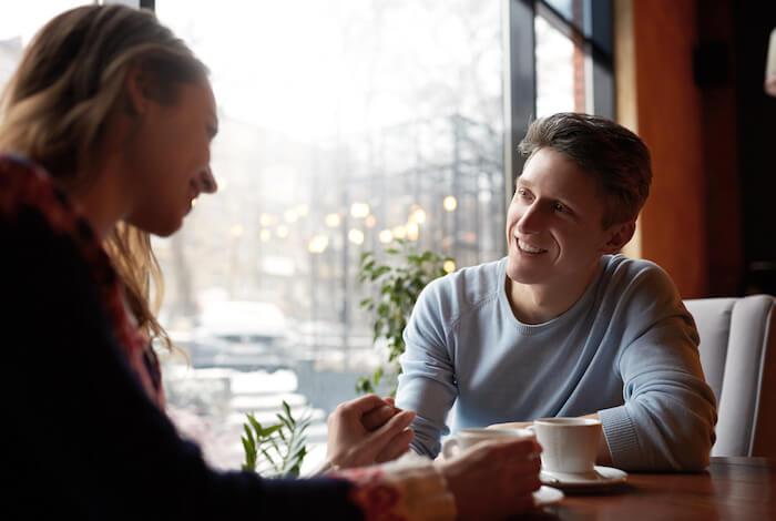 お互いの結婚観や家族観について話す
