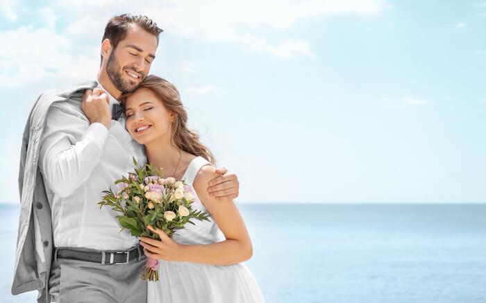 結婚するカップルの4組に1組が再婚